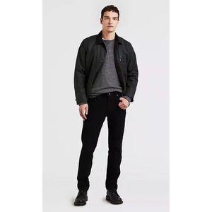 Levi's 502 Tapered Black Corduroy Pants sz 28x32